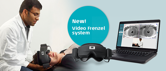 New Video Frenzel solution from Interacoustics: Physiotherapists now have a powerful tool to diagnose dizzy patients