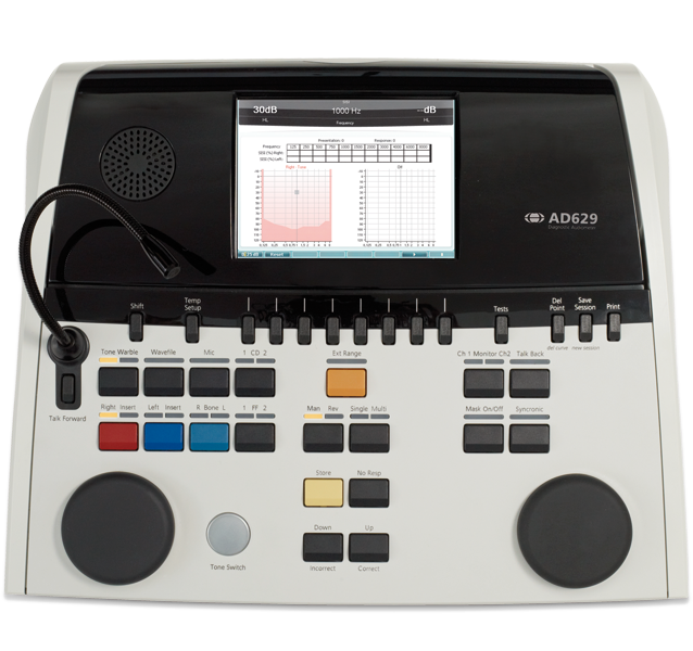 AD629 Diagnostic audiometer