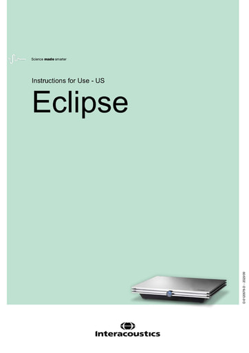 Instructions for use: Eclipse (USA)