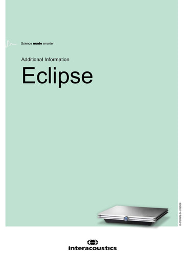 Additional information for Eclipse