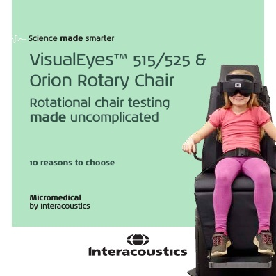 Reasons to choose VisualEyes™ 515/525 with Rotary Chair