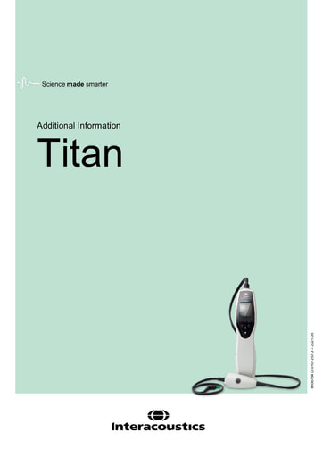 Additional information for Titan
